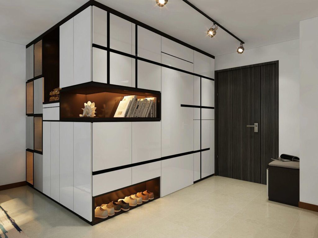 Closet Interior Design Singapore – The Large Closet image 2