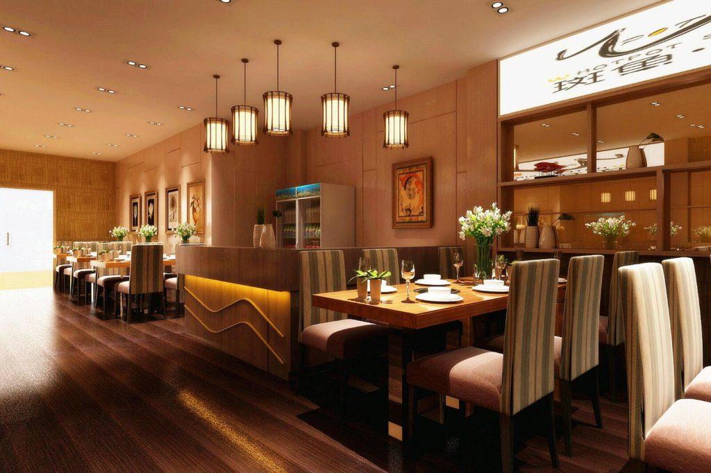 Gold kitchen cabinet interior design image 2