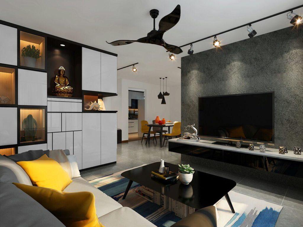 Singapore kitchen cabinet interior design image 5
