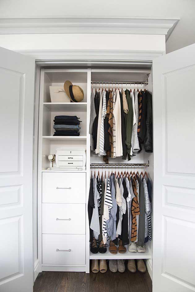 pole system wardrobe